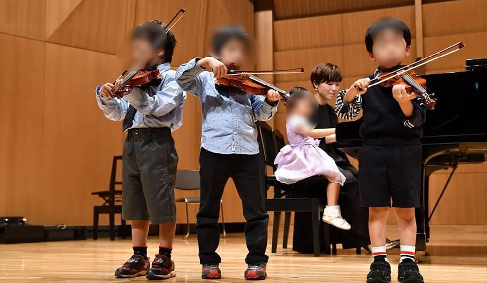 Aoba violin class画像