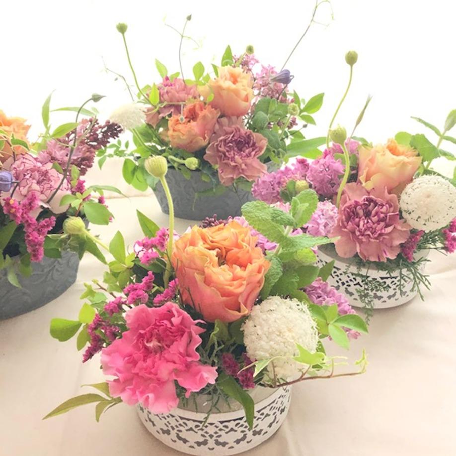 【心にもお花を♪】フラワーアトリエ 「shekira(シキラ)」(ぐりすまメンバー)