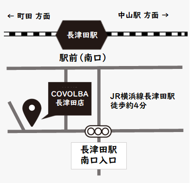 COVOLBA 長津田店 map